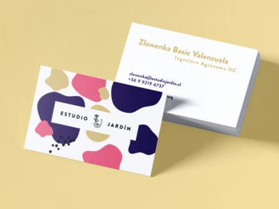 Branding for Estudio Jardín