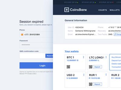 Online Bank UI