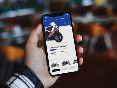 Bikesales ui ux design motorcycles motor sale second hand motorbike