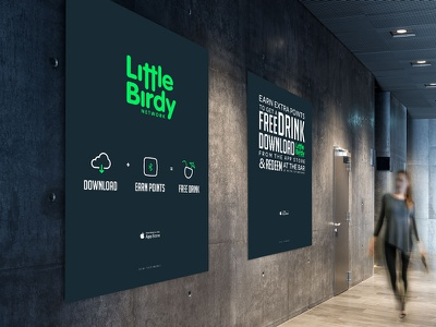 Little Birdy - Billboard Design little birdy graphic billboard