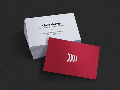 Business Cards red design graphic business cards
