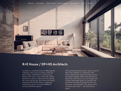 Architecture Website architecture webdesign design website