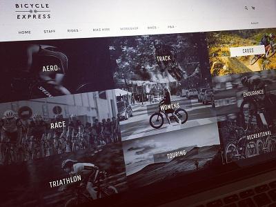 Bicycle Shop design development webdesign ui ux graphic