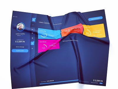Dashboard on fabric! ux ui  ux ui dashboard design dashboard
