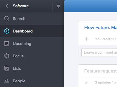 Dashboard web ui dashboard app activity feed sidebar