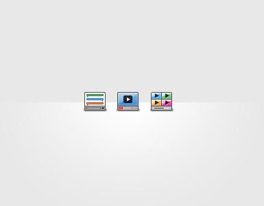 Widget Icons icons design
