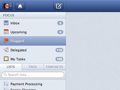 Updated Header header navigation sidebar button