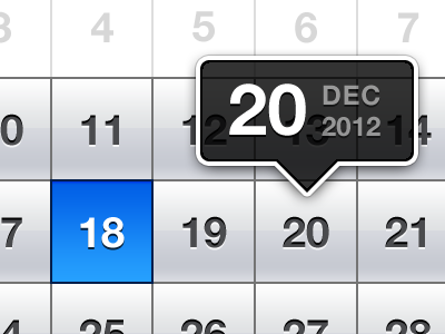 Flow Iphone New Task iphone date picker ui calendar ios date picker