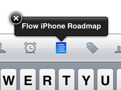 Autofill Helpout™ popout iphone icons retina button popover