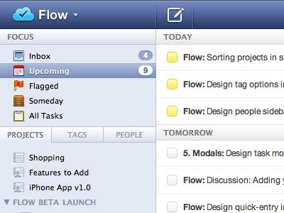 Monochromatic Sidebar Glyphs design icons glyphs tasks