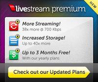 Livestream Premium Ad