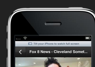 Tilt your iPhone iphone design