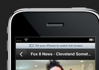 Tilt your iPhone