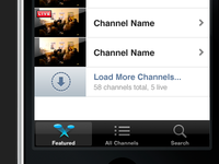 Load More Channels
