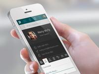Intranet Mobile Profile