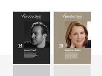 Productive Magazine Redesign