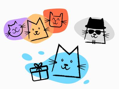 Cat Pack manulo manul carbon images logo cats cat