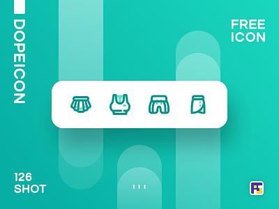 Dopeicon - Icon Showcase 126 c4d top 4 2019 website web vector ux ui typography logo illustration icon freebies flat dopeicon dope design branding app animation