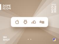 Dopeicon - Icon Showcase 160