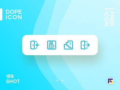 Dopeicon - Icon Showcase 189 property real estate elevator lift dope dopeicon freebies website web animation app icon branding vector ux typography ui design logo illustration
