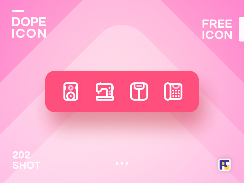 Dopeicon - Icon Showcase 202 product design print mobile dope dopeicon freebies website flat web animation app icon branding vector ux typography ui design logo illustration