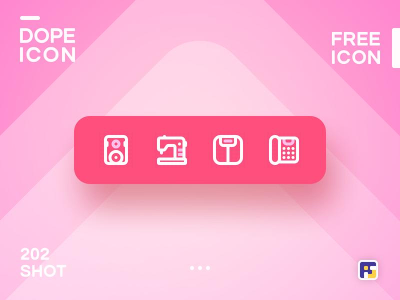 Dopeicon - Icon Showcase 202 product design print mobile dope dopeicon freebies website flat web animation app icon branding vector ux typography ui design logo illustration