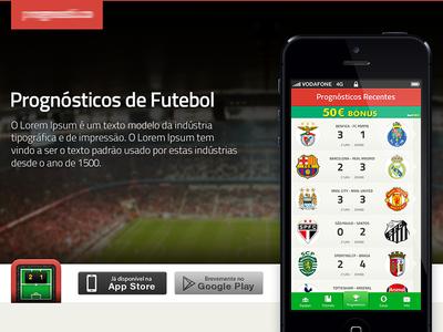Website for Soccer App