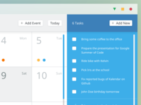 Calendar App Concept