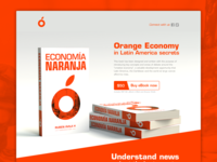 Orange Economy eBook 📙 — Daily UI Challenge #003