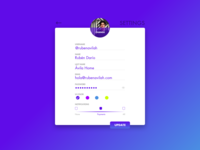 Privacy Settings 🔒 — Daily UI Challenge #007