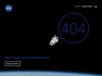 404 NASA 👨🏼‍🚀 — Daily UI Challenge #008