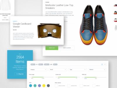 Ecommerce | Module 01 UI Kit Coming Soon