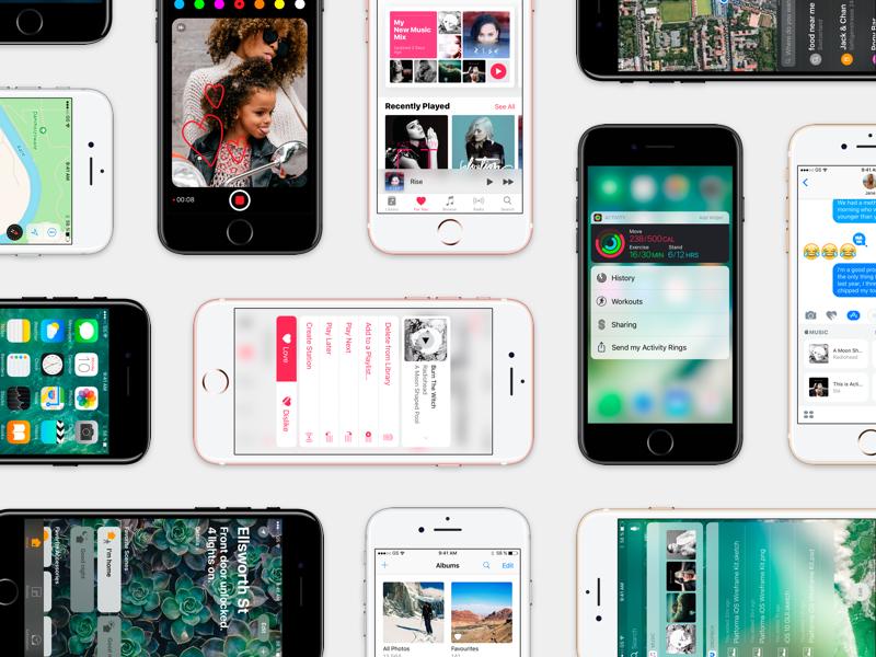 iOS 10 GUI   Big Update ios10 iphone 3d touch apple music apple gui ios