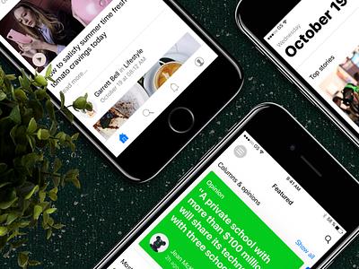 Stack UI Kit ui kit news app mobile kit