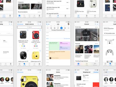 iOS Design Kit | Coming Soon ui kit design kit ios gui ios kit ios10 iphone apple gui ios