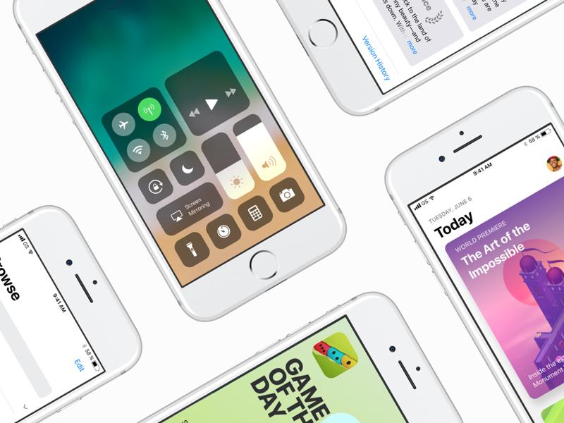 iOS 11 GUI — Already for you!
