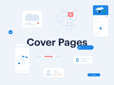 Figma Cover Pages for Opendoor projects