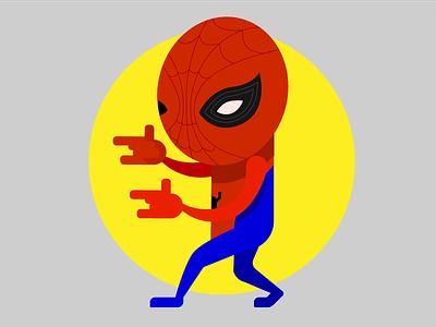 Underoos! superhero spider comic cartoon character illustration marvel peter parker spider-man spiderman civil war underoos