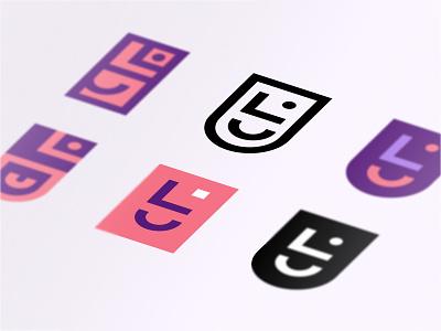 Personal Logo Exploration vector icon identity branding brand logo
