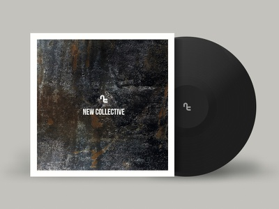 New Collective Vinyl + Branding (Sorry DKNG) branding album art cd music new collective vinyl dkng