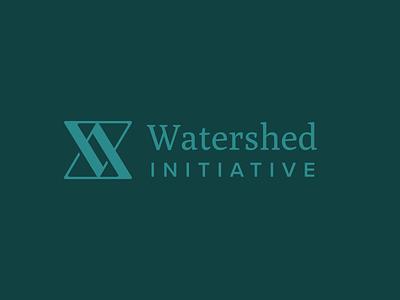 Watershed Wordmark vector branding typography logotype icon wordmark logo