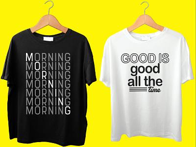 #Typography t-shirt design