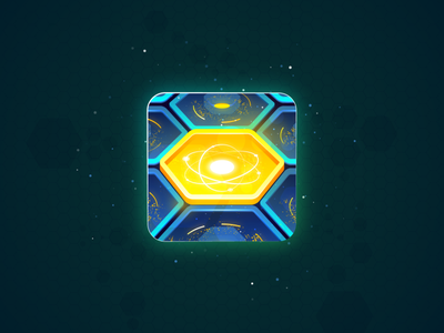 Custom game icon was designed for an indie game developer