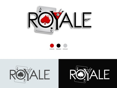 Logo design Royale bar casino royale james bond visual identity brand design branding design brand identity logotype logo design logodesign