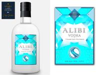 Premium label design for vodka