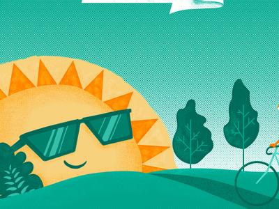Get the cool sunshine