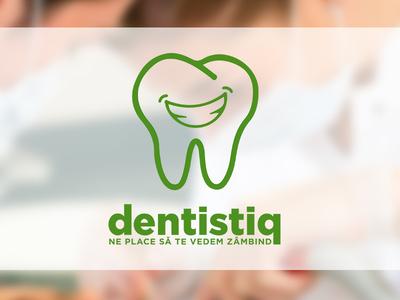 Dentistiq   Dental Clinic dentist tooth clinic medical logo
