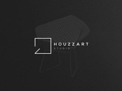 Houzzart Studio   Interior Design art branding logo interior design