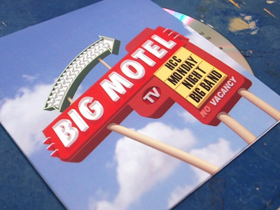 Big Motel Front Cover album art