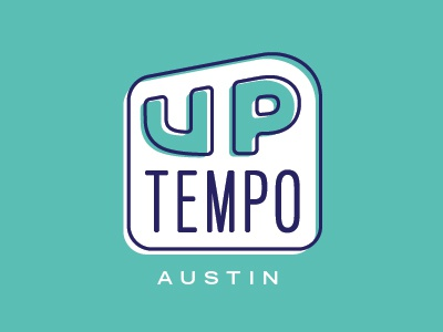 UpTempo Austin austin logotype logo